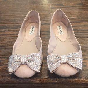 Steve Madden 'Karisma' Jeweled Bow Flats